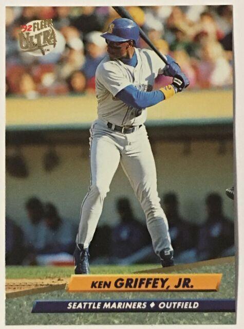 1992 Fleer Ultra Baseball Card 123 Ken Griffey Jr Seattle Mariners