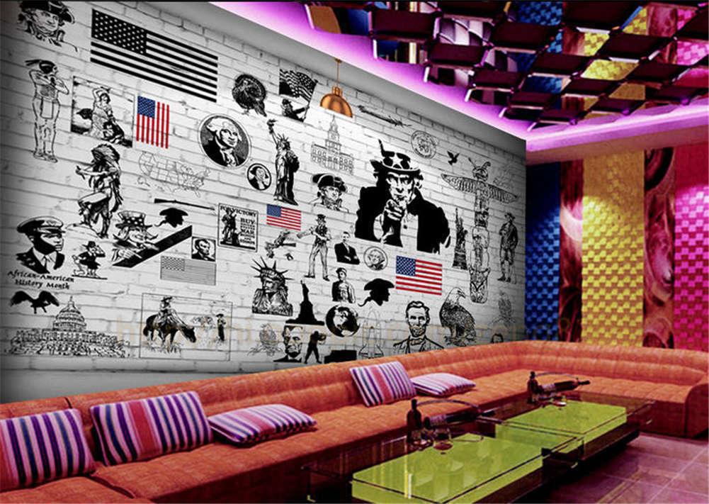 Lindo Slack actor 3D Completo Mural de Pared Foto Foto Foto Wallpaper impresión Casa Niños Decoración ba1175