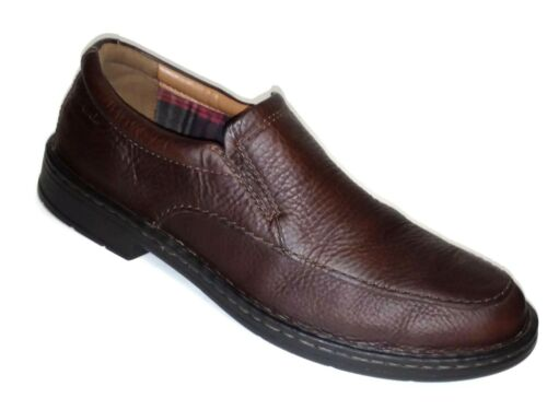 On morbido marrone Loafers Size pelle 5 in Uomo Ortholite W 9 Clarks Cuscino Slip xTStwY8q