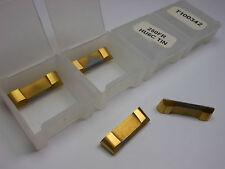 "VIKING Carbide Grooving Inserts 0.250/"" FR HU6C TIN T100342 20 Pcs"