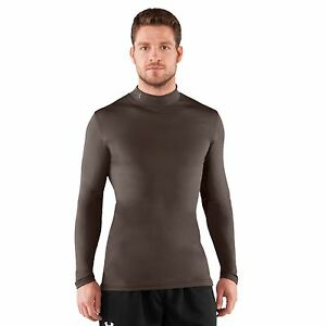 Mens-Under-Armour-EVO-ColdGear-Fitted-Mock