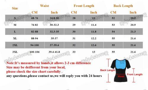 US Sauna Body Shaper Tummy Fat Burner Arm Slim Weight Loss Workout Waist Trainer