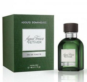 Agua Fresca Vetiver De Adolfo Dominguez Colonia Perfume 60 Ml Hombre Man Ebay