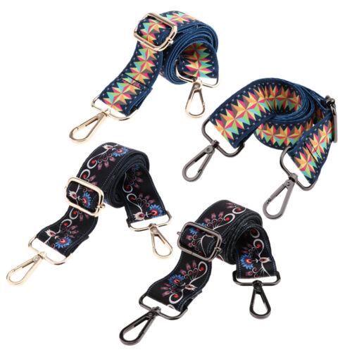 Adjustable Handbag Purse Strap Long Replacement Crossbody Bag Belt Colorful