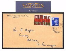 MS3456 1970s GB WALES REGIONAL First Day Cover*Welsh Language Label* Machin FDC