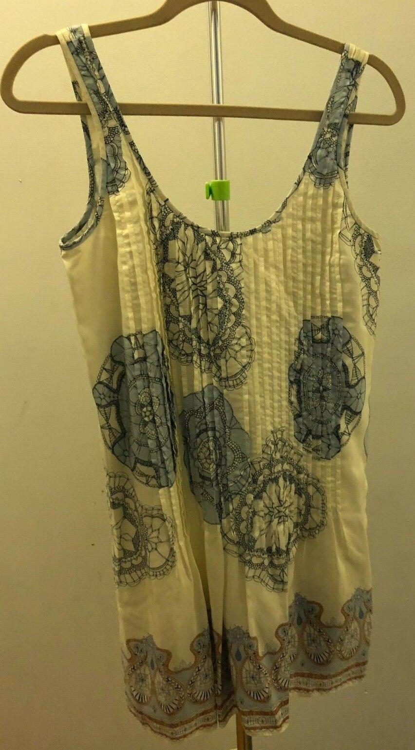 Tibi Silk Drop Waist Dress Size Size Size 0 ea3d7c