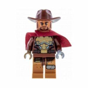 NEW-Authentic-LEGO-Overwatch-McCree-Minifigure-Dorado-Showdown-75972-ow007