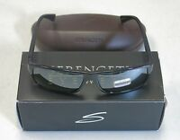 Serengeti Authentic Sunglasses CLAUDIO Shiny Black Polarized 7949 NEW! 31726