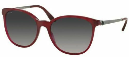 New* Bvlgari BV 8160B 5333/8G Burgundy Grey Gradient Sunglasses New Italy
