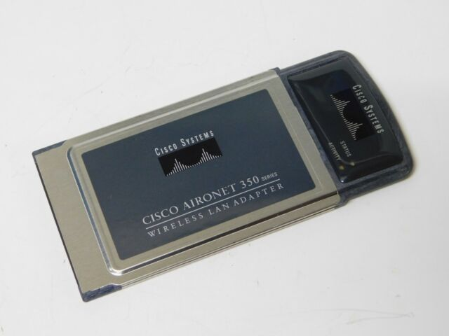Cisco Aironet 350 Series Wifi Wireless Lan Adapter AIR-PCM350