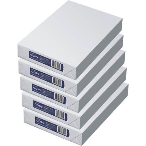 2500 Blatt Kopierpapier für Kopierer Fax Tinten und Laserdrucker 80g//m² weiß A4