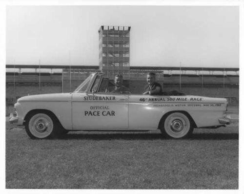 1962 Studebaker Lark Daytona Convertible Indianapolis 500 Pace Car Photo 0024