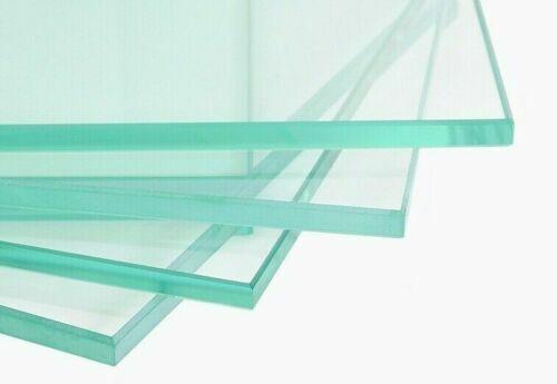 Glas auf Wunschmaß Klarglas 60x20 cm 600x200 mm Zuschnitt Glasplatte Glasscheibe