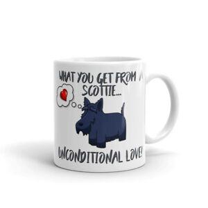 Dog-Mug-Scottie-Mug-What-you-get-Unconditional-Love-Scottish-Terrier-Gift