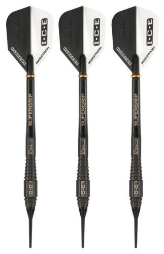 Details about  /Harrows Black ICE 90/% Tungsten Polar Soft Tip Darts 18 Grams
