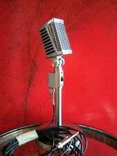 Vintage 1960's Calrad DM-16 H.L dynamic microphone dual Z Midland old w cable
