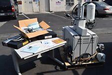 Topcon Sm 300 Scanning Electron Gun Microscope Sem Evex Ulvac Adixen Vacuum Pump