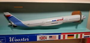 WOOSTER-W431-AIR-INTER-A330-200-1-250-SCALE-PLASTIC-SNAPFIT-MODEL