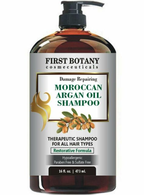 Moroccan Argan Oil Shampoo with Restorative Formula 16 fl. oz