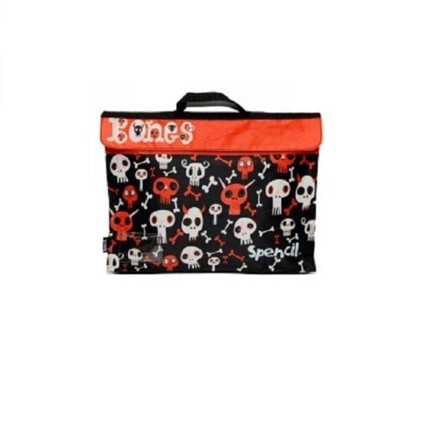 Spencil Library Bag Bones LBB-BON