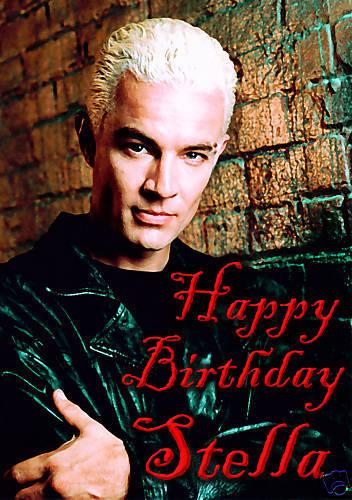 Spike James Marsters Buffy Vampire Slayer Birthday Personalised