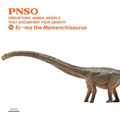 PNSO Ceratosaurus Figure Dinosaur Animal Model Toy Collector Decor Jurassic BNIB