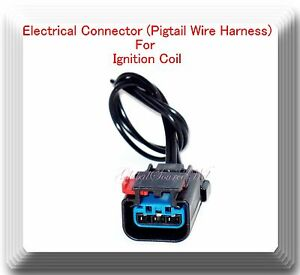 Details about Electrical Pigtail Wire Harness Connector For Ignition on