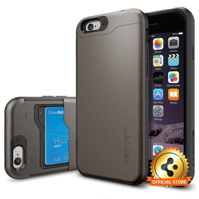 Spigen Apple Iphone 6s 6 Slim Armor Cs Wallet Case For Sale Online Ebay