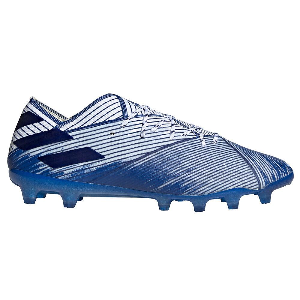 Adidas Fußballschuhe Nemeziz 19.1 AG blau weiss Herren  EG7334 -  NEU & OVP