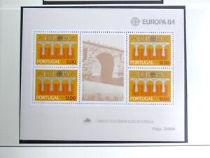 TIMBRES-DU-PORTUGAL-1984-YVERT-BLOC-FEUILLET-N-44-NEUF-SANS-CHARNIERE-TBE