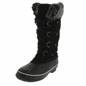 Kreated Equal Faux Fur Women's Tall Arctic Winter Boots, Cruelty Free, Lightw...