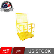 Telehandler Forklift Safety Cage Basket Safety Cage 2 Person Work Platform