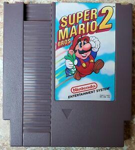 Super Mario Bros. 2 - Original Nintendo NES Game - Tested, Working & Authentic!