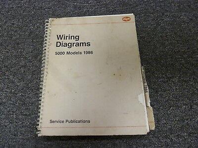 1986 Audi 5000 Quattro Sedan Wagon Electrical Wiring Diagram Manual S CS  Turbo   eBayeBay