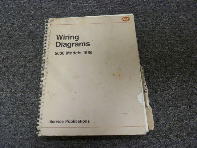 1986 Audi 5000 Quattro Sedan Wagon Electrical Wiring