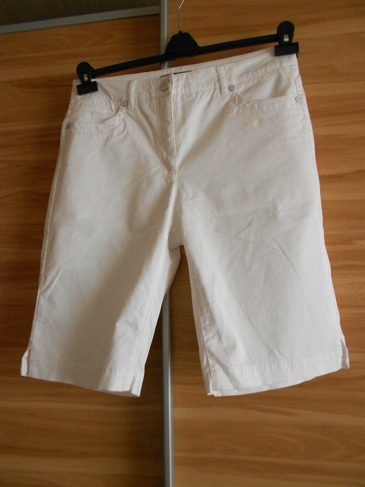 ADAGIO ( Karstadt ) Damen Bermuda Gr.40 weiss zustand sehr gut Hose 1x getragen