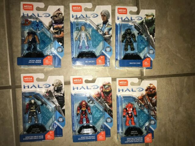 Halo Mega Construx Heroes Series 8  FVK21 JACKAL MINOR /& ARK SERIES MARINE