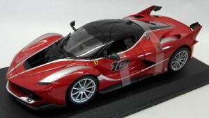 Burago-1-18-Scale-Diecast-18-16010-Ferrari-FXX-K-Supercar-Red-Black-Model-Car