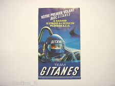 ADESIVO AUTO F1 1985 /Old Original Sticker LIGIER TEAM GITANES LAFFITE (cm 9x16)