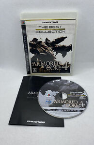 JAPAN-Import-Armored-Core-4-Sony-PlayStation-3-2007-PS3-NTSC-J-CIB-Complete