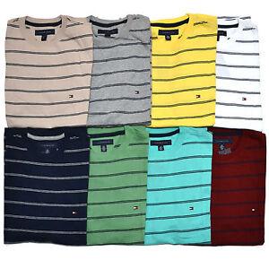 Tommy Hilfiger Mens T Shirt Classic Fit Crew Neck Short