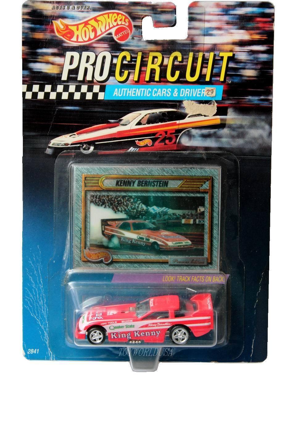 1992 caliente ruedaS Pro Circuit swindahl Kenny Bernstein re Kenny Quaker State