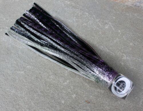 "COT 7.5/"" Big-Eye Lure Offshore Fishing Trolling Tuna Dolphin Black//Purple"