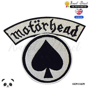 Motor-Head-Music-Band-Embroidered-Iron-On-Sew-On-Patch-Badge-For-Clothes-etc