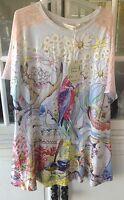 Brand Peter Alexander Gumnut Babies Print Pj Nightie Sleep Shirt Size Xs/s
