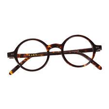 87108c6760 42 mm HANDMADE Full Rim Unisex Round Glasses Frame Eyeglasses Rx Clear Lens