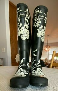 Joules Wellies Rain Boots Size 38 US 7