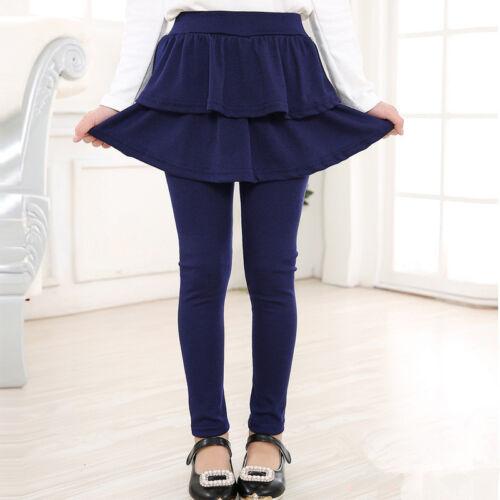 Kids Baby Girls Skirt Pants Thin Leggings Soft Pants Children Spring Autumn