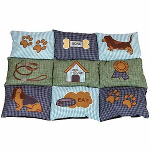 Large-Super-Soft-Warm-Washable-Dog-Pet-Bed-Mattress-Pad-Pillow-Fleece-Cushion