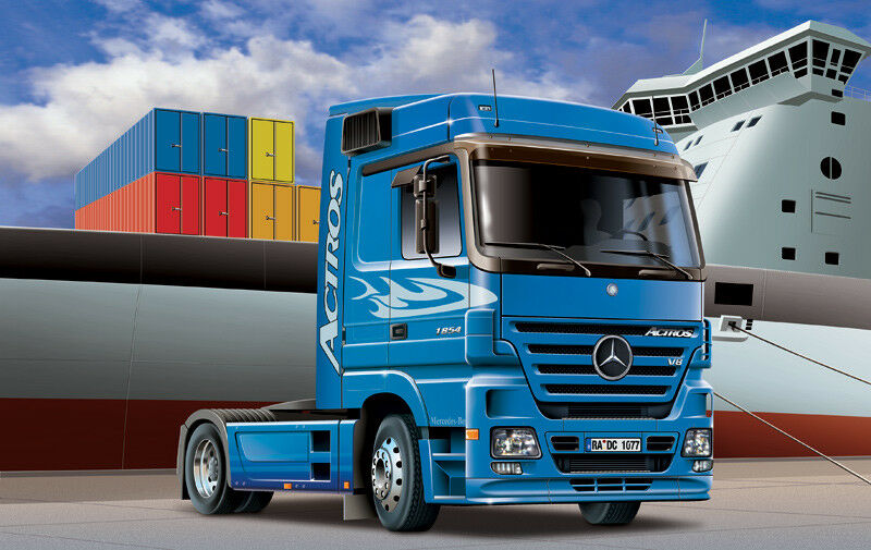 edición limitada Mercedes Benz Actros Actros Actros 1854 Ls (V8) Italeri 1 24 3824 Maqueta de Plástico en Kit  bienvenido a orden